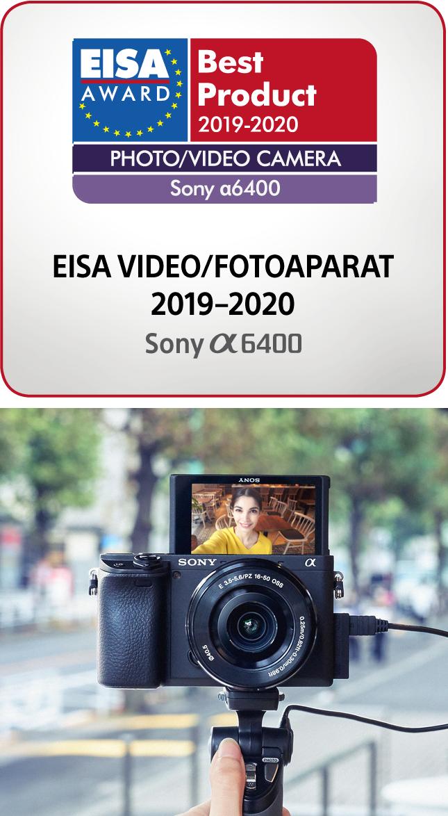 Nagrada za najboljši foto/video fotoaparat brezrcalni Sony DSC-RX100m6